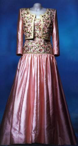 Diana's pink dress
